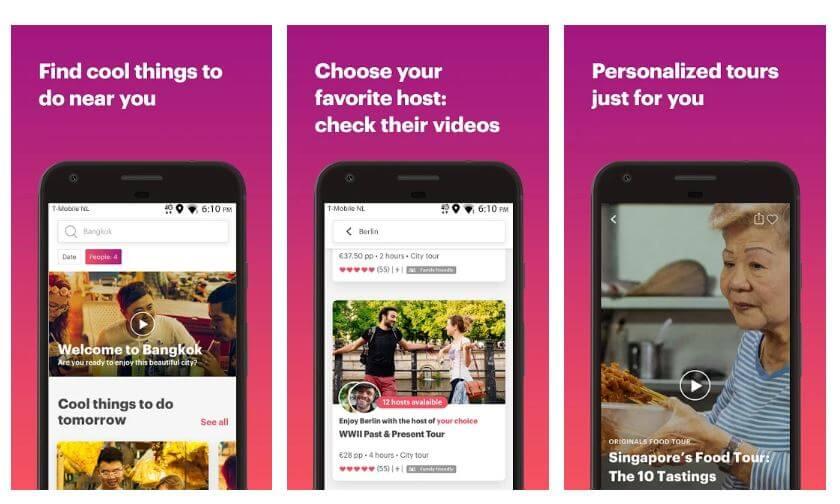 best travel app - withlocals