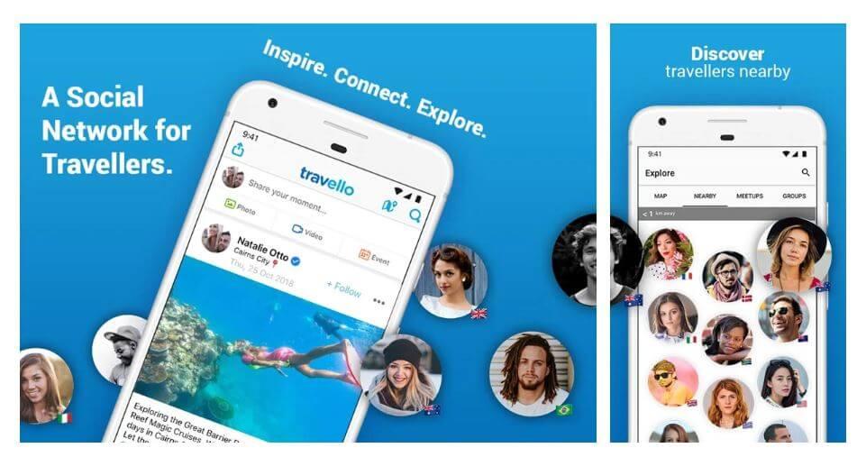 best travel app - travello
