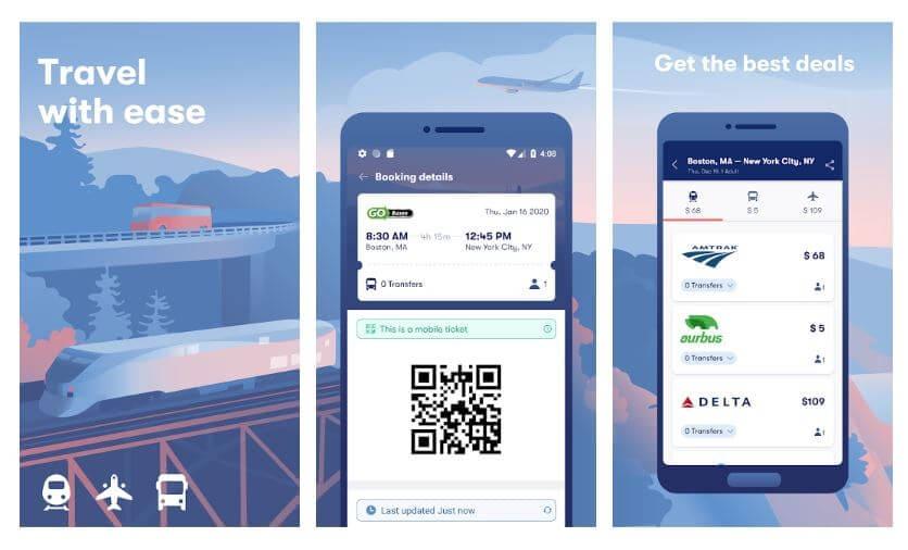 best travel app - omio