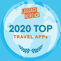 2020 travel app best badge